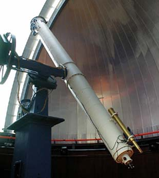 Dearborn Telescope at Northwestern University in the Dearborn Observatory